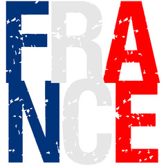 France Text Logo