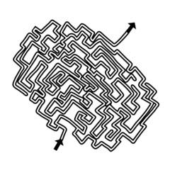 Lost maze game