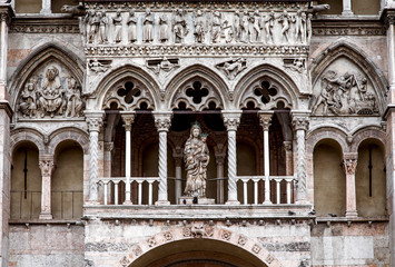 The Cathedral in Ferrara