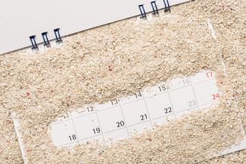 カレンダーと休暇