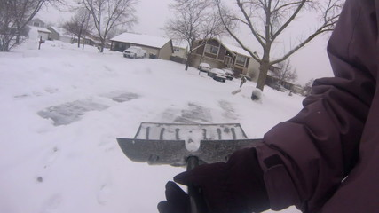 Shoveling Snow POV