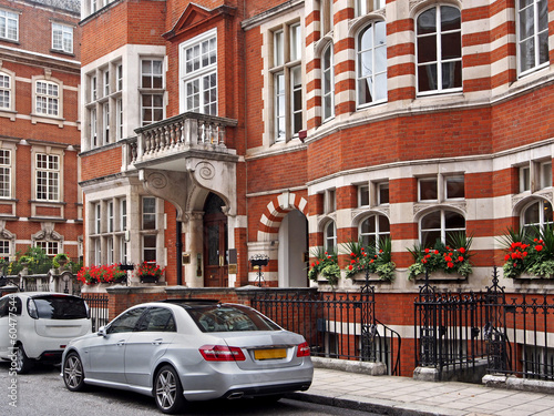 elegant London townhouses, Mayfair