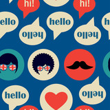 Hello english pattern