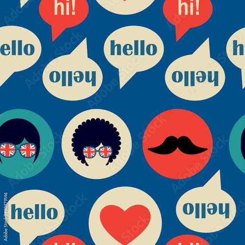 Hello english pattern - 60479146