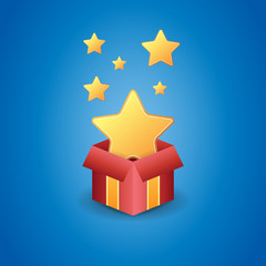 Golden Star Free Gift