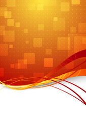 Transparent abstract high-tech background for web