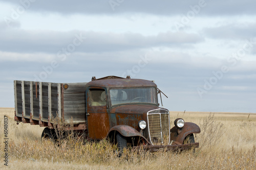 Old Rustic Farm Truck