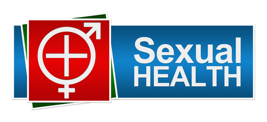 Sexual Health Red Green Blue Banner