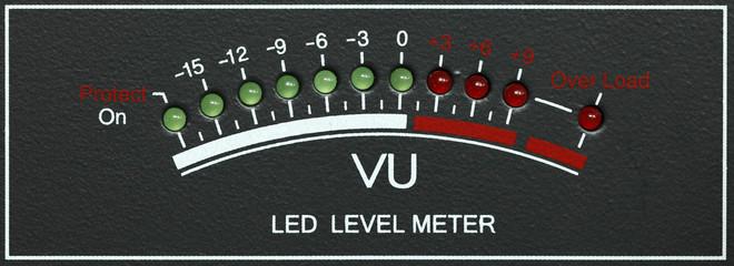LED level meter