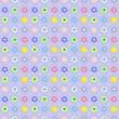 Childish Floral seamless pattern