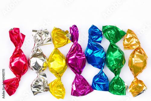 canvas print picture Colorful Bonbons
