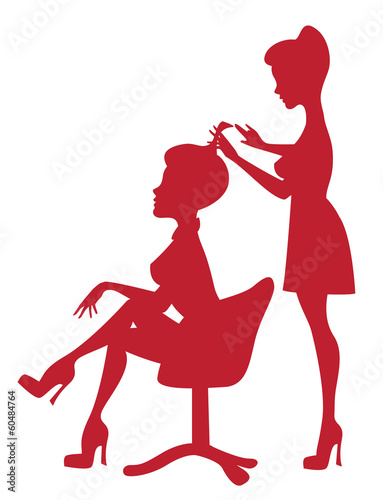 At hairdresser - 60484764