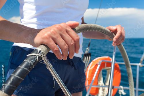 Zdjęcia na płótnie, fototapety, obrazy : Sailing