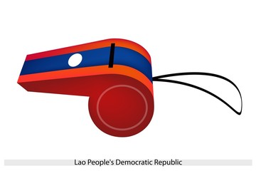 A Whistle of Lao Peoples Democratic Republic