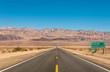 Death Valley, California - Empty infinite Road in the Desert - 60486537