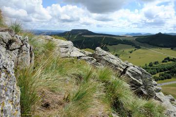 Panorama depuis le Mont Gerbier de Jonc
