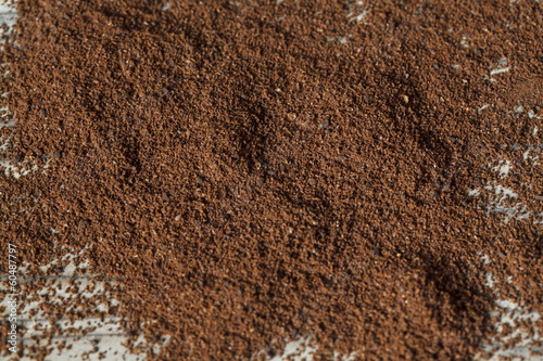 Coffee powder texture