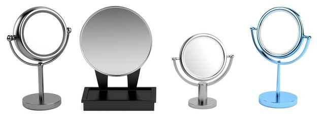 realistic 3d model of mirrors
