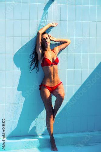 sexy summer woman