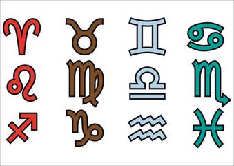 символы зодиака