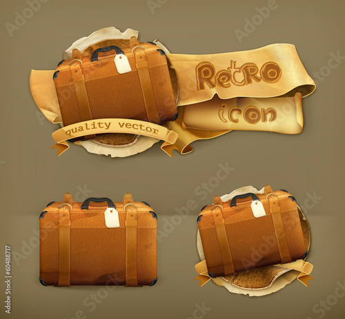 Baggage, vector icon