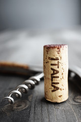 "Wine: ""Italia"" Cork"