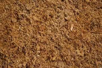 Sawdust garden