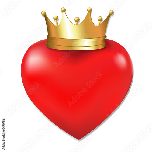 Heart In Crown