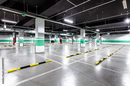 empty underground parking - 60490955