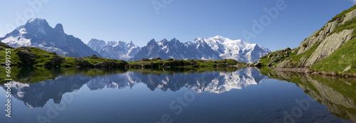 Deurstickers Alpen Mont Blanc