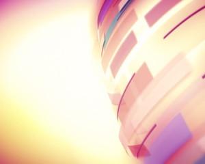 вращение  цветных колец
