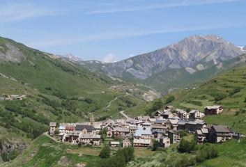 Le Chazelet, dans les Hautes-Alpes