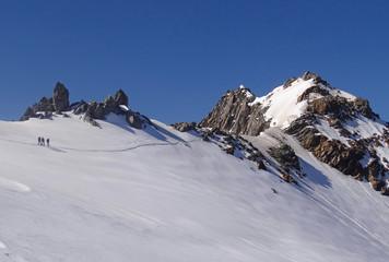 Alpinisme, Massif du Mont Blanc (Aig. de la Bérangère, 3425m)