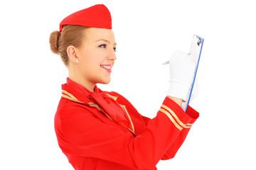 Stewardess duties