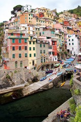 Little harbor in Riomaggiore
