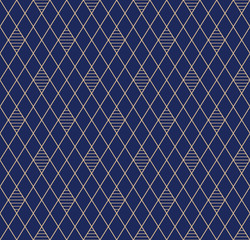 Striped seamless pattern. Vector elegant background.
