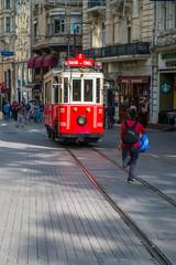 Taksim tram, Istanbul