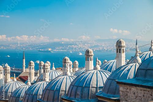 Papiers peints Turkey Süleymaniye mosque, Istanbul