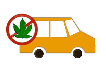 Interdit de conduire en étant drogué