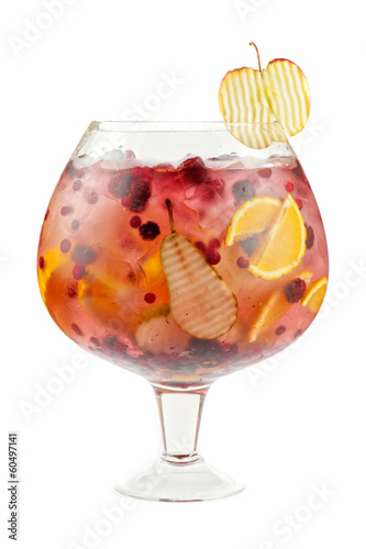 Berries and fruit cocktail