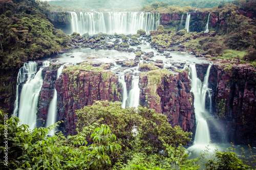 Iguassu Falls,the largest waterfalls of the world,Brazilian side