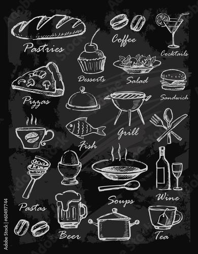 menu icons - 60497744