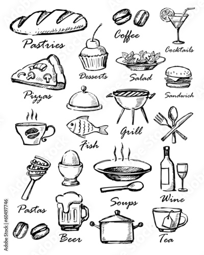 ikony menu
