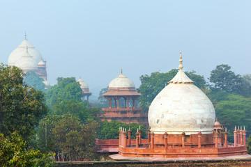 Mughal Garden in front of Taj Mahal
