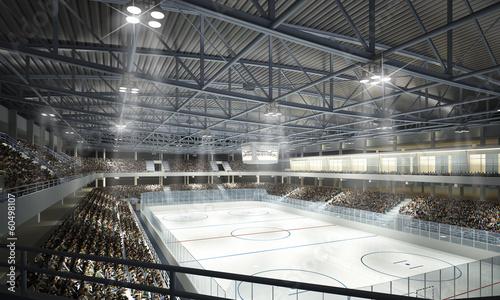mata magnetyczna Eishockeyhalle