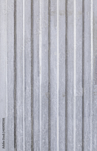 Textured metal door