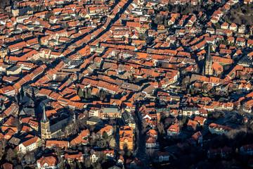 Luftbild Wernigerode