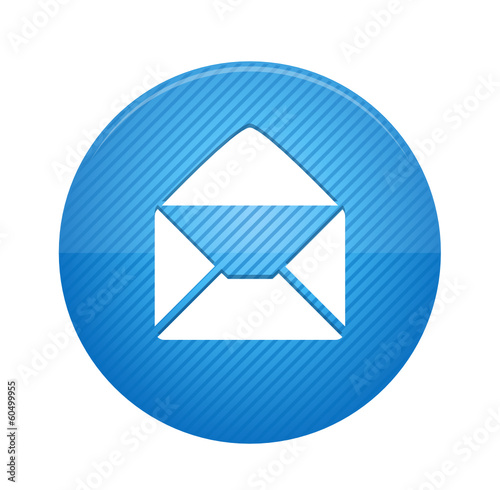 Read email - blue web button