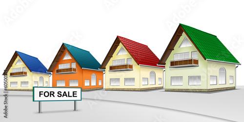 Eigenheim - Siedlung. Haus zu verkaufen