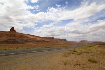 route vers Monument Valley, Arizona